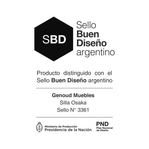 FUIMOS DISTINGUIDOS CON EL SELLO BUEN DISEÑO ARGENTINO